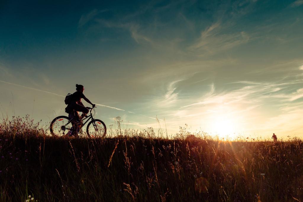 Fahrrad Abendsonne Unsplash