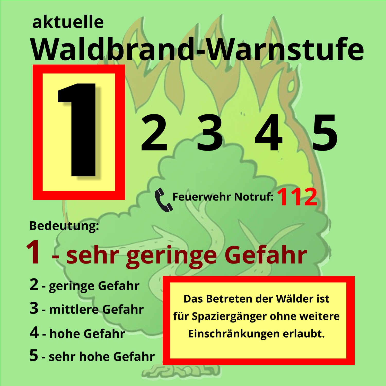 waldbrandgefahr 1 mecklenburg